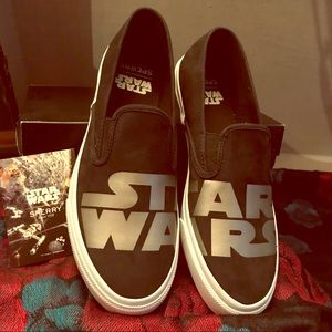 Star Wars slip on sperry shoes